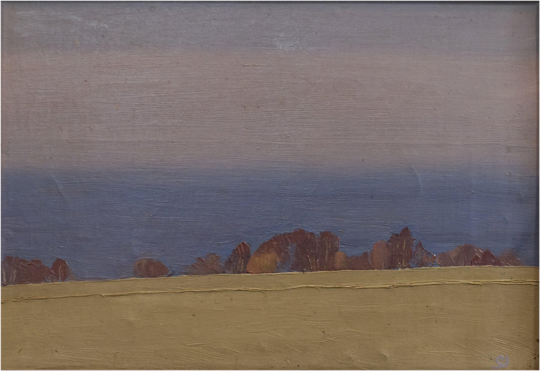 Claus Johansen: Udsigt fra Vang (ca. 1932)